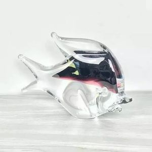Marcolin Sommerso Crystal Art Angelfish Sculpture